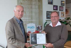 Palm Oil Free certificaat voor Maza Mediterranean Delicacies